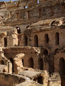 Free Roman Amphitheather Royalty Free Stock Photo - 5917935