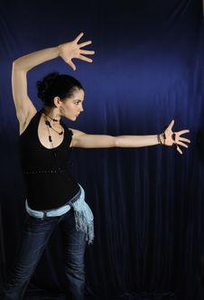 Free Dancer Woman Royalty Free Stock Photo - 5918425