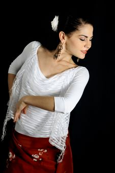 Free Flamenco Dancer Royalty Free Stock Photo - 5918475