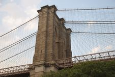 Free Brooklyn Bridge Royalty Free Stock Photos - 5919058