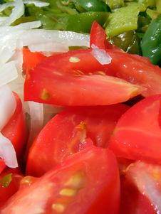 Mix Salad Stock Photography