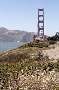 Free Golden Gate Bridge Royalty Free Stock Image - 5919366
