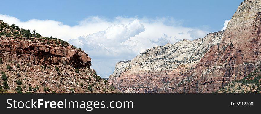 Zion National Park panorama