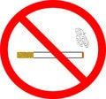 Free No Smoking Stock Photography - 5923872