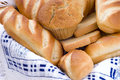 Free Bread Assortment In A Basket Royalty Free Stock Images - 5924069