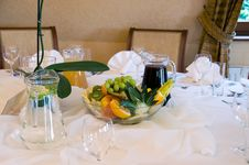 Free Frutis On Banquet Table Royalty Free Stock Images - 5920169