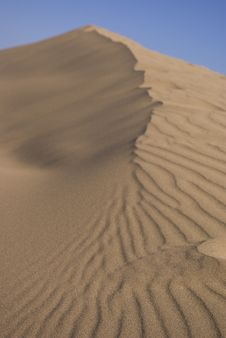 Free Desert Sand Dunes Stock Photography - 5920862