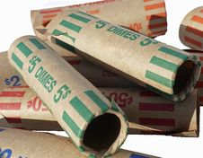 Free Money Rolls Stock Photography - 5921332