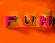 Free Orange Fun Stock Image - 5921711