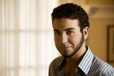 Free Portrait Of A Young Man Royalty Free Stock Photo - 5921785