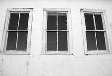 Black And White Windows Stock Photos