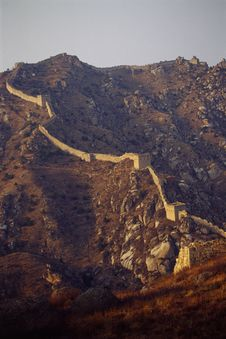 Free The Great Wall Royalty Free Stock Photos - 5921928