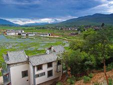 Scenery Landscape Near Lijiang Royalty Free Stock Photos