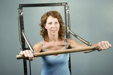 Free Woman Doing A Strength Workout Royalty Free Stock Photo - 5922065