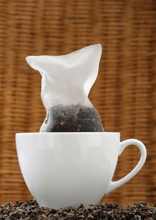 Free Corn Silk Tea Bag Stock Photos - 5922103