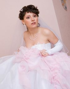 Free Scared Bride Royalty Free Stock Photo - 5922165