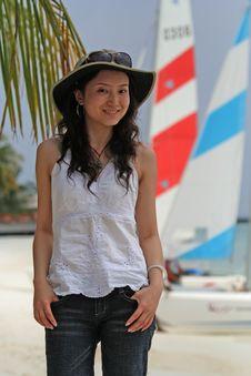 Free Girl On Seaside Stock Photo - 5922550