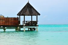 Free Maldives, Welcome To Paradise! Royalty Free Stock Images - 5922619
