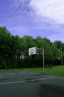 Free Basketball Court Stock Photography - 5922682