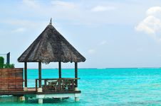 Free Maldives, Welcome To Paradise! Stock Photos - 5922713