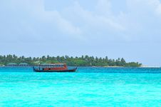 Free Maldives, Welcome To Paradise! Stock Photography - 5922742