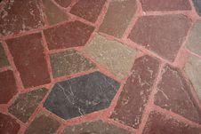 Old Stone Floor Pattern Stock Photo