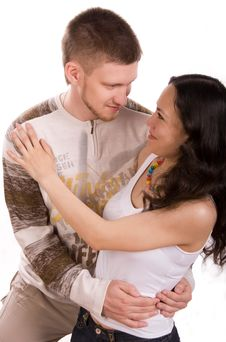 Free Happy Couple Royalty Free Stock Photography - 5922997