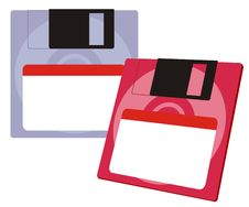 Free Floppy Disks Set Stock Photos - 5923243