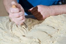 Free Woodcarving. Stock Photo - 5923780