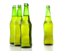 Free Beer In A Bottle Royalty Free Stock Image - 5924176