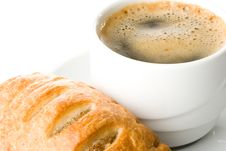 Free Pie And Cup Of Coffee Stock Images - 5924204