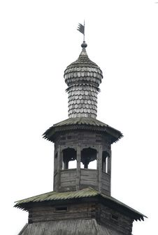 Free Wooden Spire Of Ancient Tower Royalty Free Stock Photo - 5924345