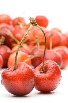 Free Fresh Cherry Stock Photos - 5924393