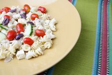 Free Pasta Salad Royalty Free Stock Photography - 5924627