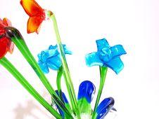 Free Blue Crystal Flowers Stock Photos - 5924743