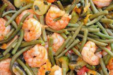 Free Shrimp Background Stock Photography - 5924762