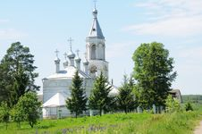 Free Russian Church Royalty Free Stock Photo - 5925115
