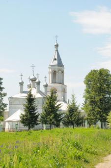 Free Russian Church Stock Image - 5925121