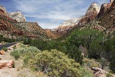 Free Zion NP, Utah Stock Image - 5925571