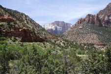 Zion NP, Utah Royalty Free Stock Image