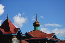 Free Old Russian Church Royalty Free Stock Images - 5925629