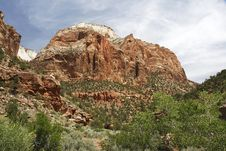 Free Zion NP, Utah Royalty Free Stock Photography - 5925637