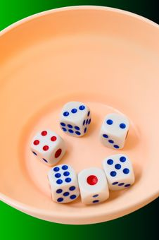 Free Dices Royalty Free Stock Image - 5926156