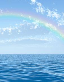 Free Beautiful Rainbow Royalty Free Stock Photography - 5926337