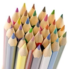 Free Colored Pencils Royalty Free Stock Photography - 5926607