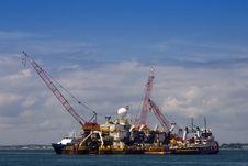 Free Shipping Barge Royalty Free Stock Image - 5926806