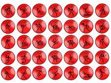 Free Olimpic Summer Game Simbols Stock Images - 5927034