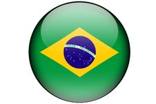 Free Brazilian Flag Royalty Free Stock Images - 5927129