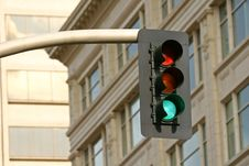 Free Green Stoplight Stock Images - 5927204