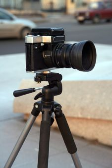 A Camera Royalty Free Stock Images